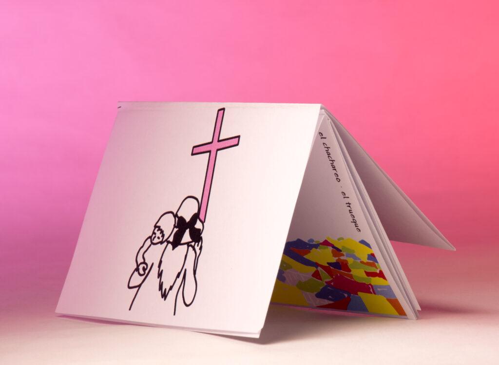 """Fanzine colectivo realizado en el Taller Nuestro cuerpo, nuestro territorio"""" impartido por Sonia Madrigal y Diana Cano impartido en el Centro Cultural de España en México en 2020."""